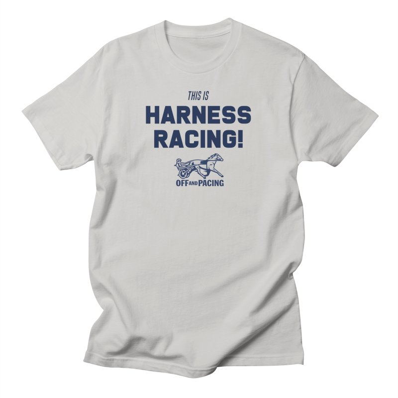 This is Harness Racing! - Off and Pacing Men's T-Shirt by Bad Jump Games Merch Shop