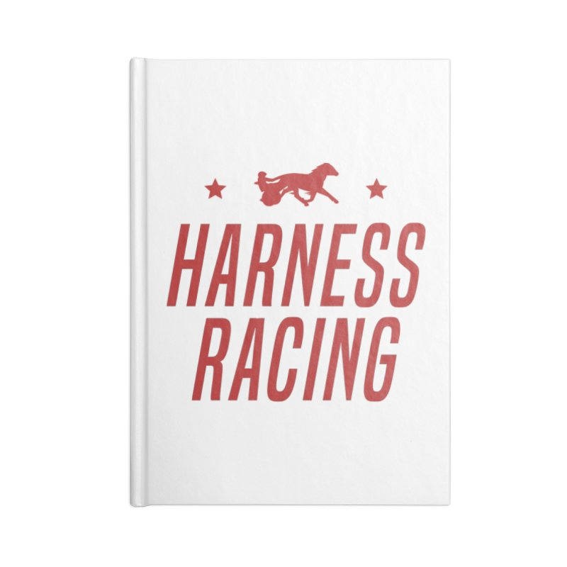 Harness Racing Accessories Notebook by Bad Jump Games Merch Shop