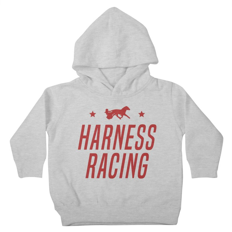 Harness Racing Kids Toddler Pullover Hoody by Bad Jump Games Merch Shop