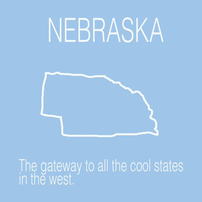 Nebraska - Gateway by badlydrawnstates's Artist Shop
