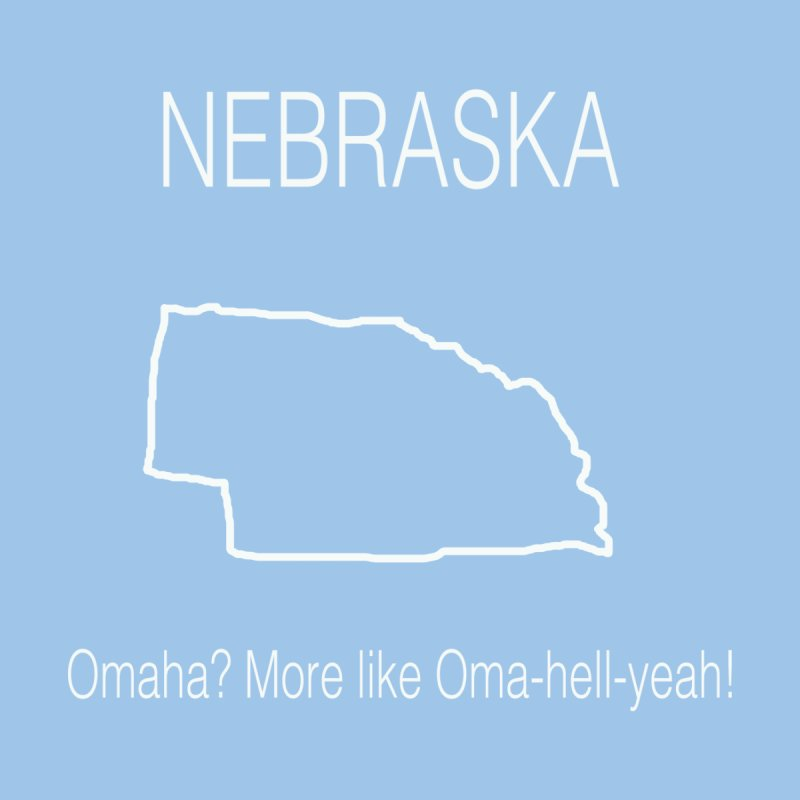 Nebraska - Omaha by badlydrawnstates's Artist Shop