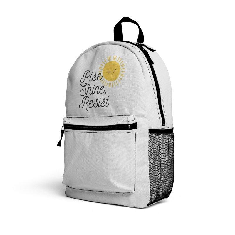Rise Shine Resist Accessories Bag by BadNewsB
