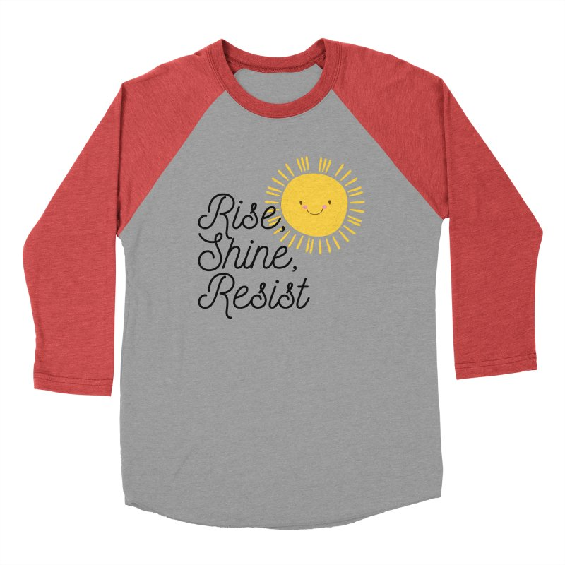 Rise Shine Resist Men's Longsleeve T-Shirt by BadNewsB