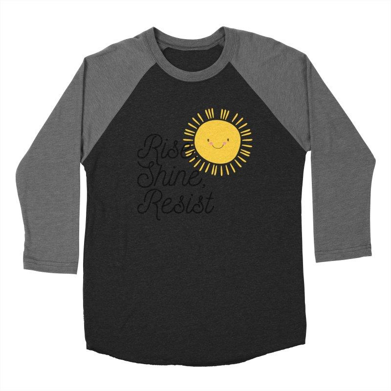 Rise Shine Resist Men's Longsleeve T-Shirt by BadNewsB