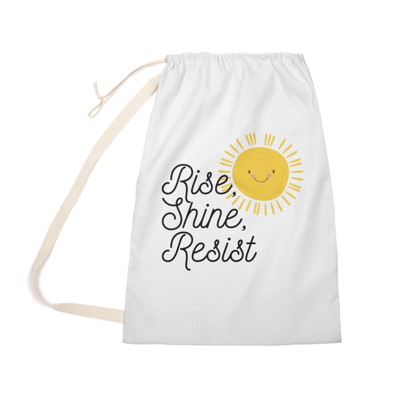 Rise Shine Resist Accessories Bag by BadNewsB