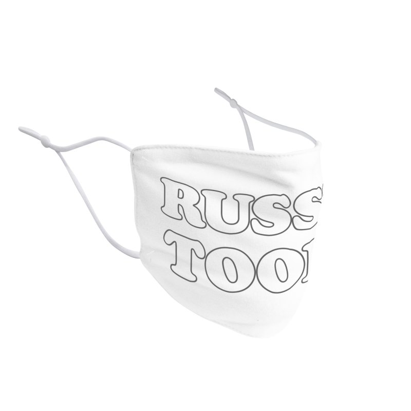 Russ's Tools Accessories Face Mask by BadNewsB
