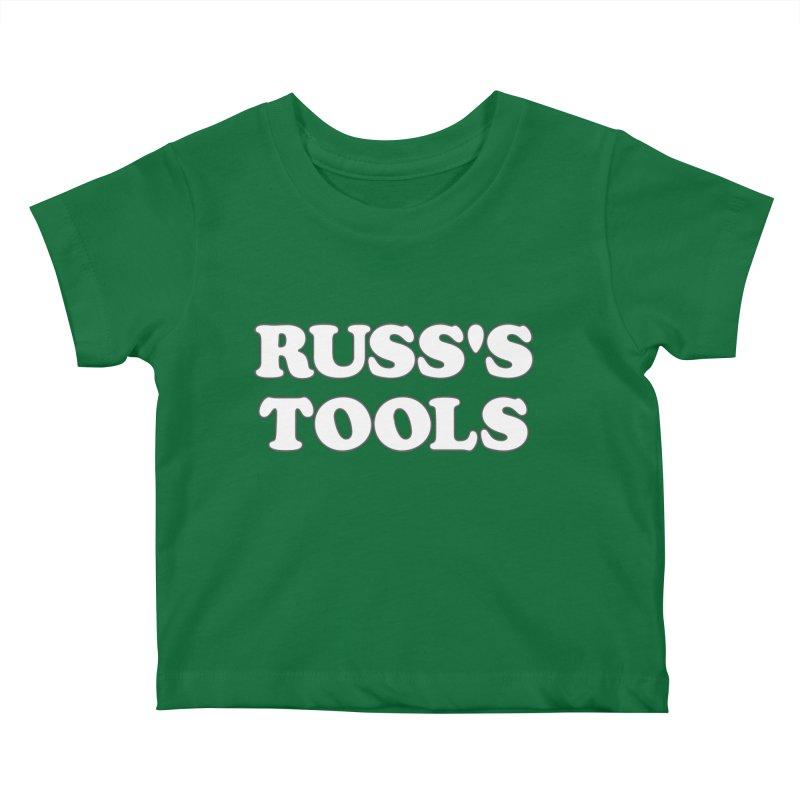 Russ's Tools Kids Baby T-Shirt by BadNewsB