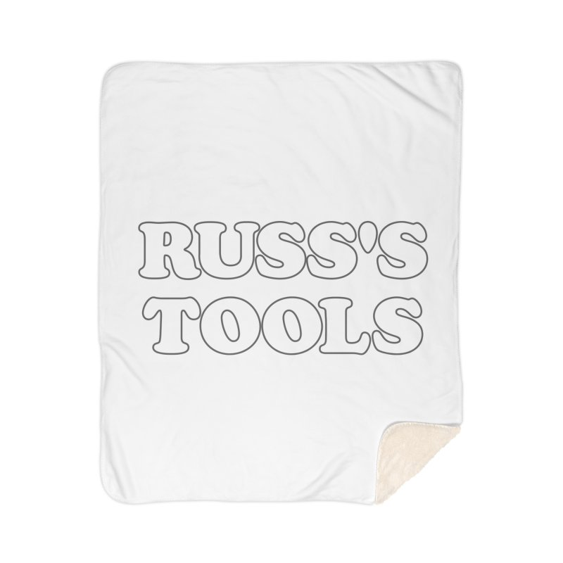Russ's Tools Home Blanket by BadNewsB