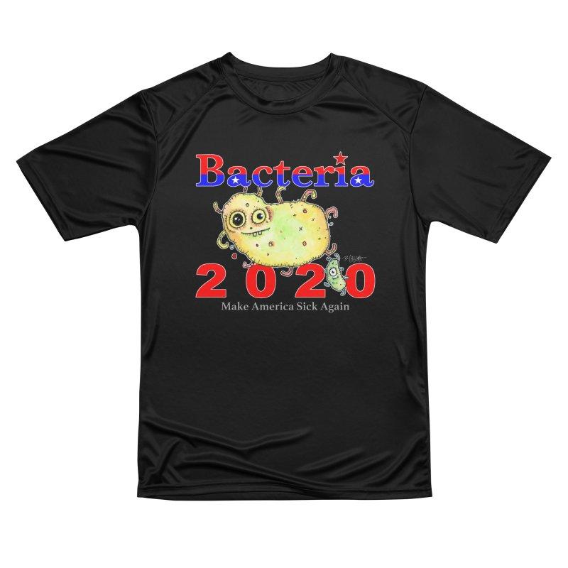 Bacteria For President Women's Performance Unisex T-Shirt by Bad Otis Link's Artist Shop