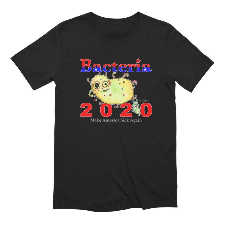 Bacteria For President Men's Extra Soft T-Shirt by Bad Otis Link's Artist Shop