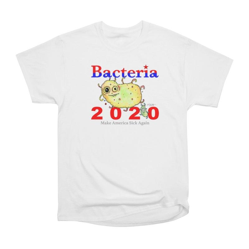 Bacteria For President Men's Heavyweight T-Shirt by Bad Otis Link's Artist Shop