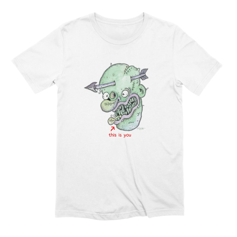 This Is You Men's Extra Soft T-Shirt by Bad Otis Link's Artist Shop