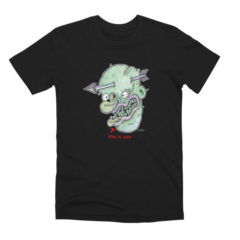 This Is You Men's Premium T-Shirt by Bad Otis Link's Artist Shop