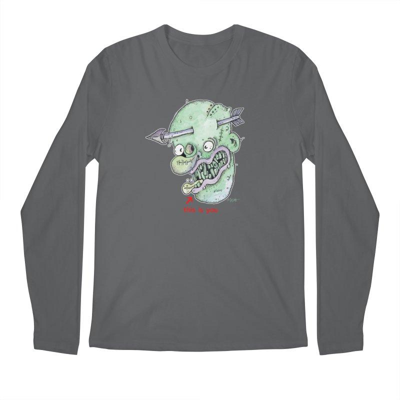 This Is You Men's Regular Longsleeve T-Shirt by Bad Otis Link's Artist Shop