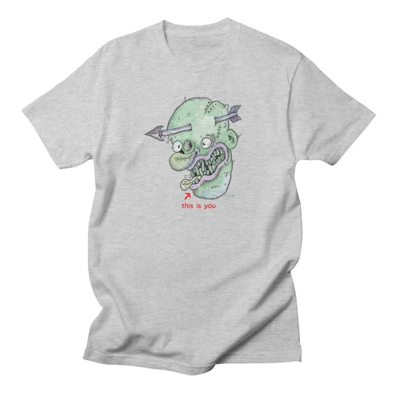 This Is You Men's Regular T-Shirt by Bad Otis Link's Artist Shop