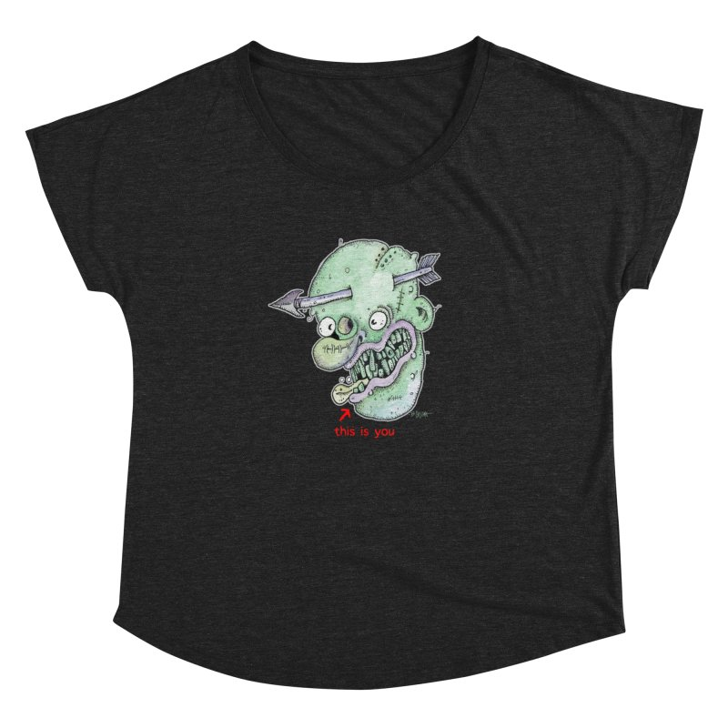 This Is You Women's Dolman Scoop Neck by Bad Otis Link's Artist Shop