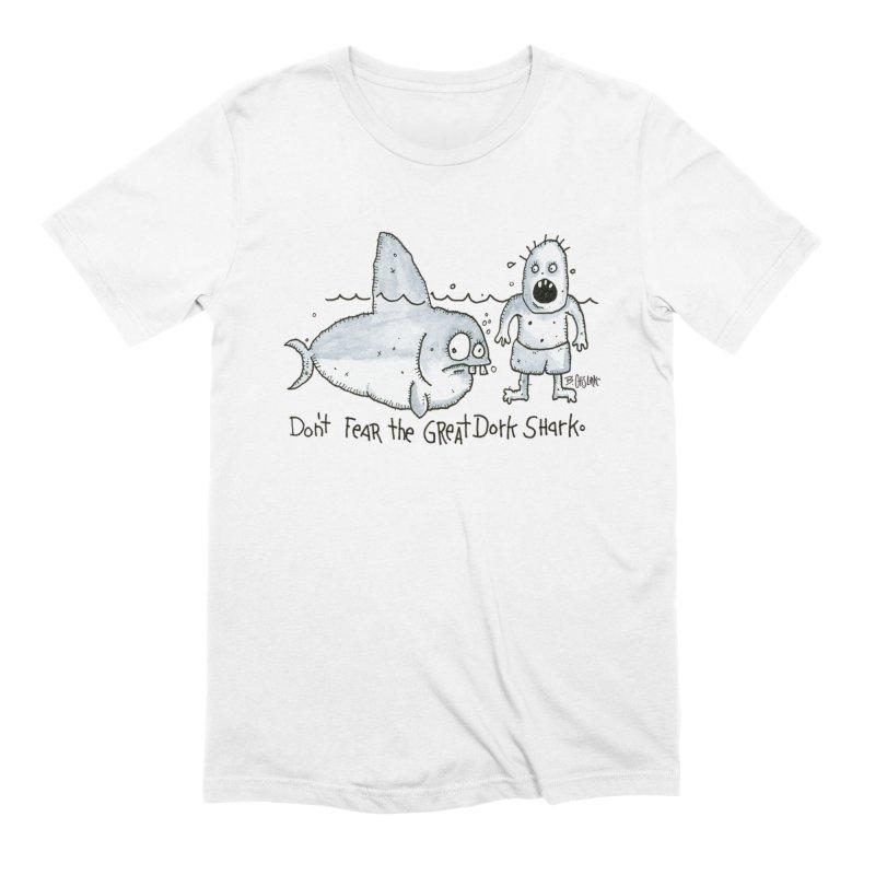 Great Dork Shark Men's T-Shirt by Bad Otis Link's Artist Shop