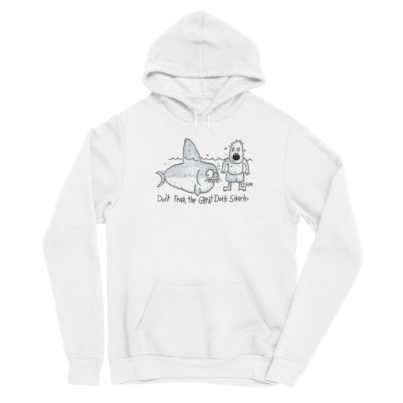 Great Dork Shark Men's Pullover Hoody by Bad Otis Link's Artist Shop