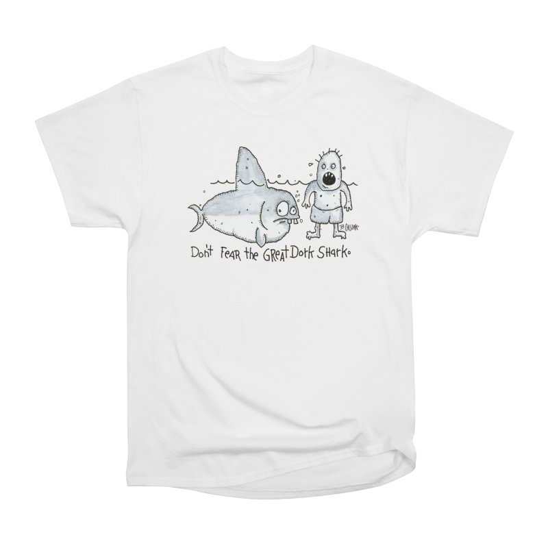 Great Dork Shark Men's T-Shirt by Bad Otis Link's Artist Shop