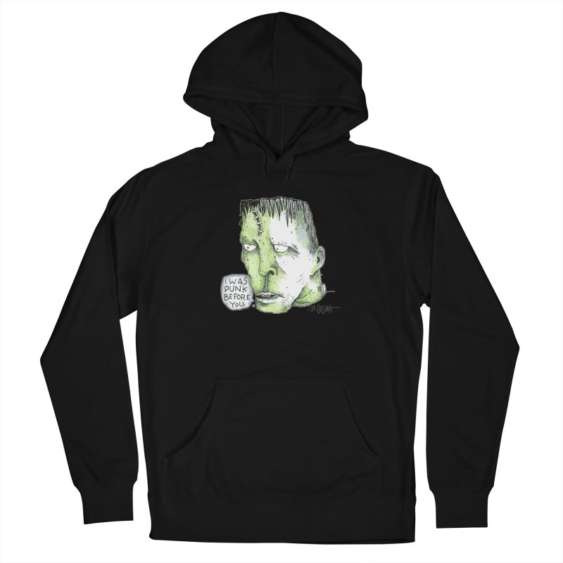 I Was Punk Before You. Men's Pullover Hoody by Bad Otis Link's Artist Shop
