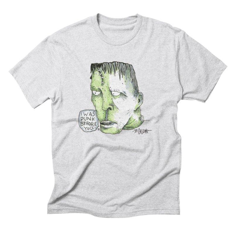 I Was Punk Before You. Men's T-Shirt by Bad Otis Link's Artist Shop