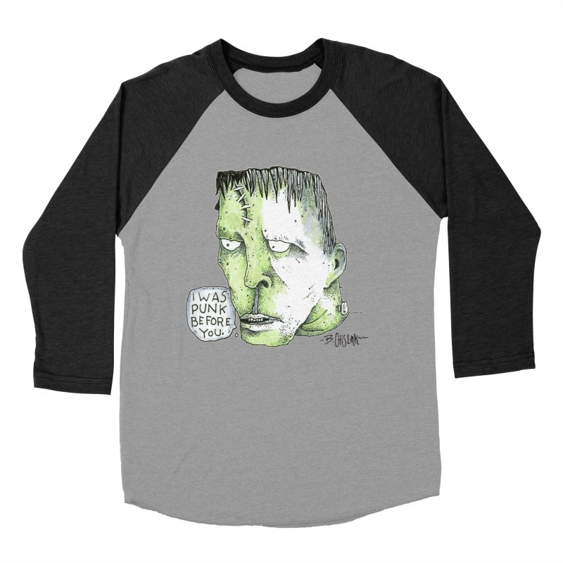 I Was Punk Before You. Men's Longsleeve T-Shirt by Bad Otis Link's Artist Shop