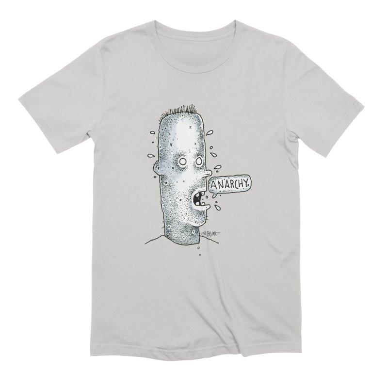Anarchy Dude Men's T-Shirt by Bad Otis Link's Artist Shop