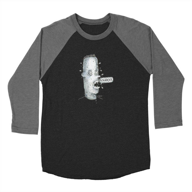Anarchy Dude Women's Longsleeve T-Shirt by Bad Otis Link's Artist Shop
