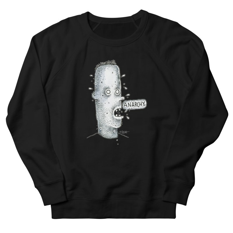Anarchy Dude Women's Sweatshirt by Bad Otis Link's Artist Shop