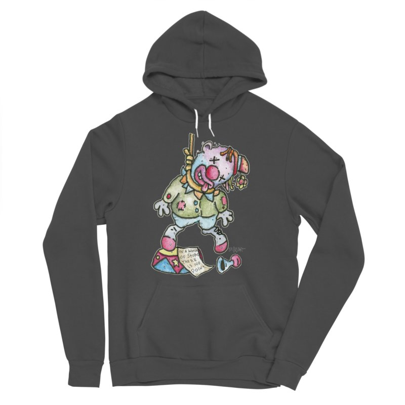 Take Out The Clowns. Men's Sponge Fleece Pullover Hoody by Bad Otis Link's Artist Shop