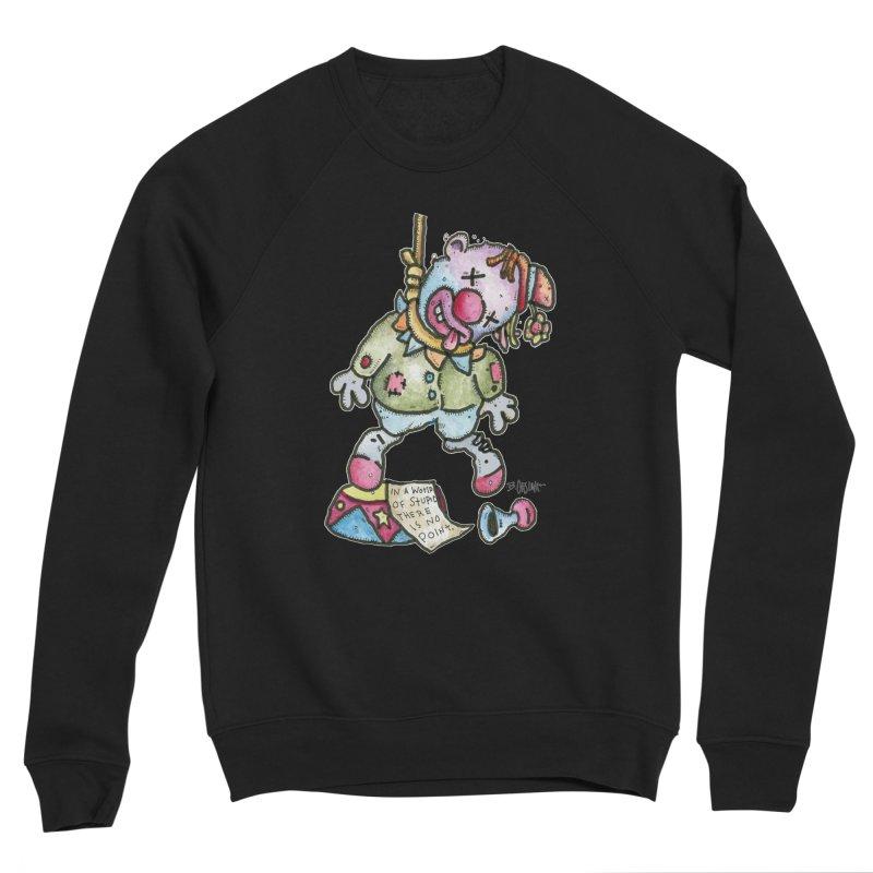 Take Out The Clowns. Men's Sponge Fleece Sweatshirt by Bad Otis Link's Artist Shop