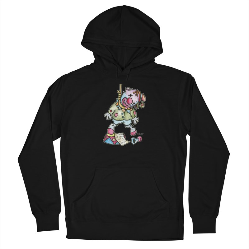 Take Out The Clowns. Men's French Terry Pullover Hoody by Bad Otis Link's Artist Shop