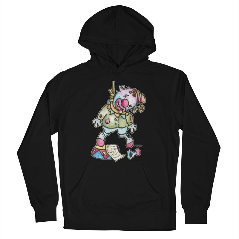 Take Out The Clowns. Women's French Terry Pullover Hoody by Bad Otis Link's Artist Shop