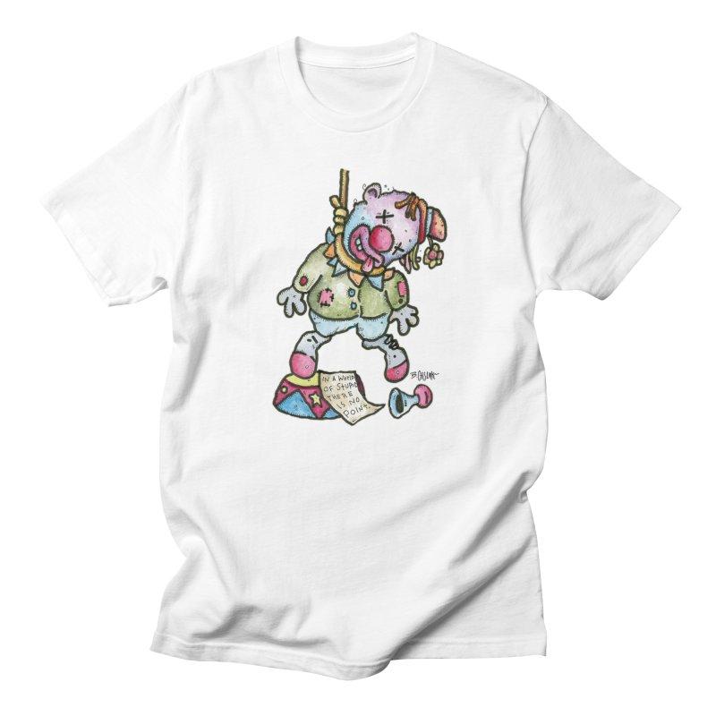 Take Out The Clowns. Women's Regular Unisex T-Shirt by Bad Otis Link's Artist Shop