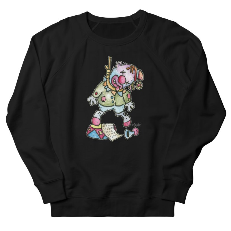 Take Out The Clowns. Women's French Terry Sweatshirt by Bad Otis Link's Artist Shop