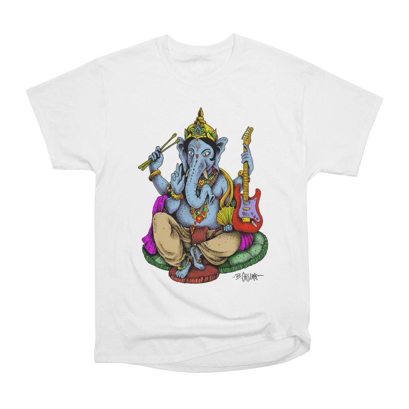 Ganesha - God of beginnings Men's T-Shirt by Bad Otis Link's Artist Shop