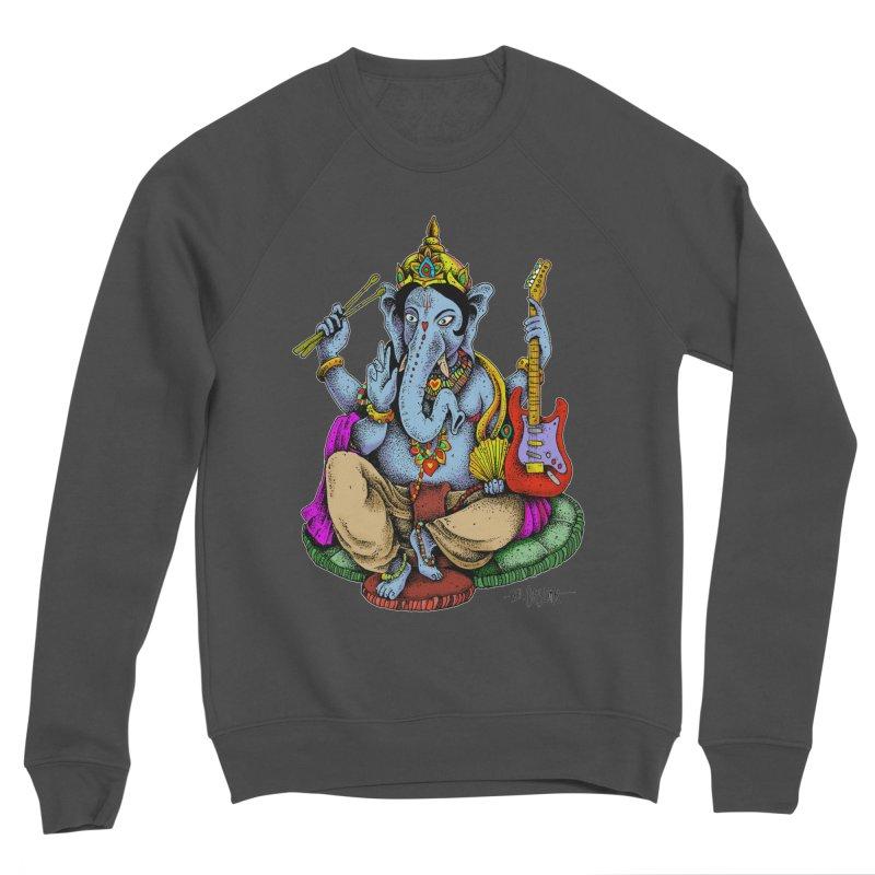 Ganesha - God of beginnings Women's Sponge Fleece Sweatshirt by Bad Otis Link's Artist Shop