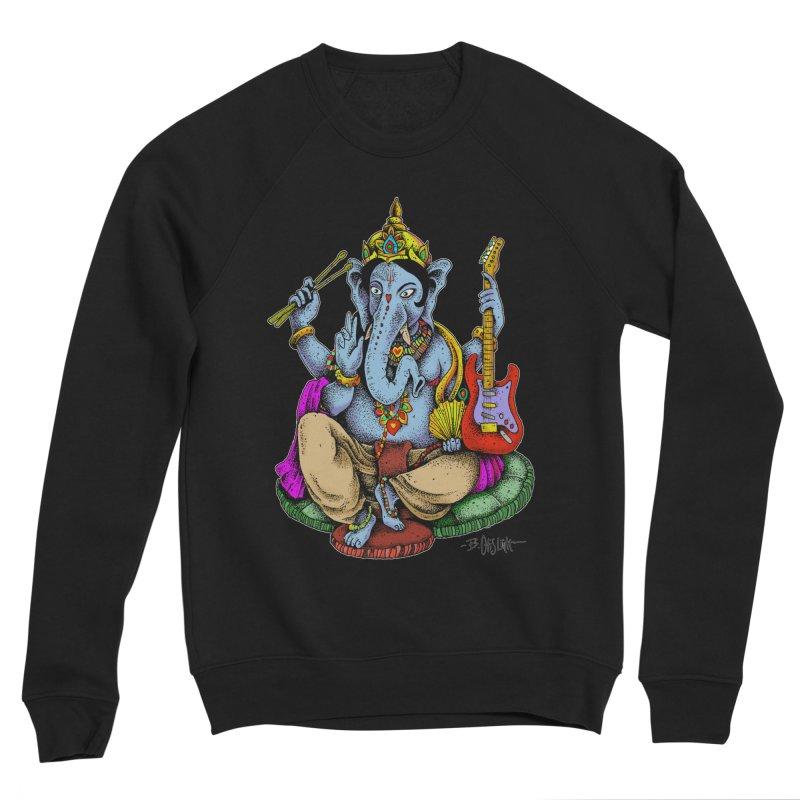 Ganesha - God of beginnings Men's Sponge Fleece Sweatshirt by Bad Otis Link's Artist Shop