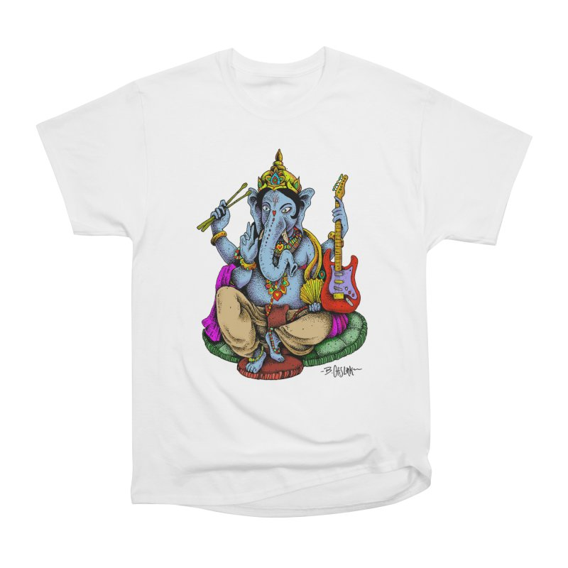 Ganesha - God of beginnings Men's T-Shirt by Bad Otis Link's Artist Shop