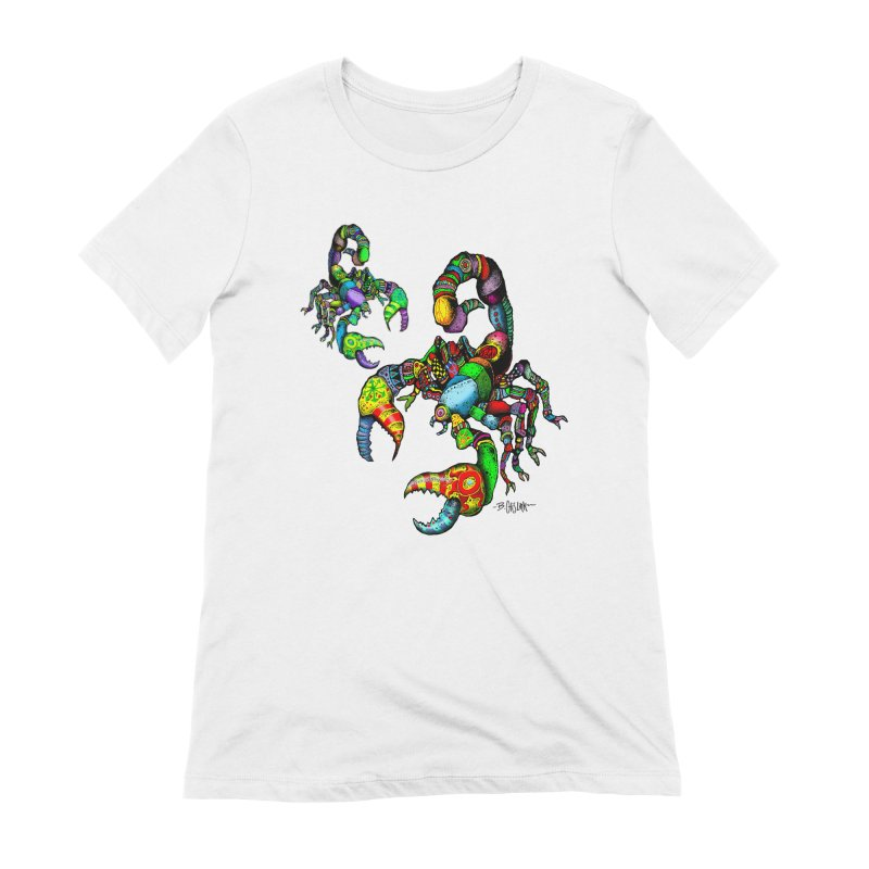 Scorpiopathic Women's Extra Soft T-Shirt by Bad Otis Link's Artist Shop