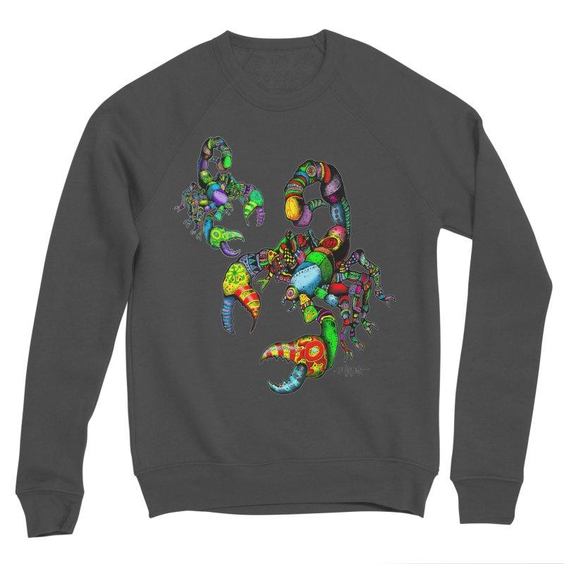 Scorpiopathic Men's Sponge Fleece Sweatshirt by Bad Otis Link's Artist Shop