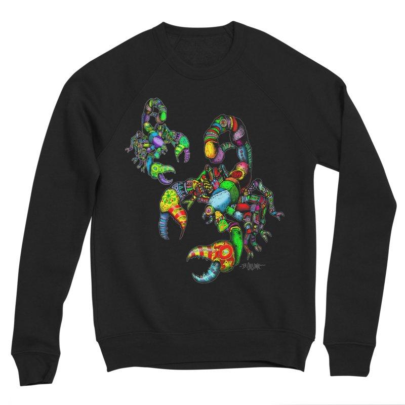 Scorpiopathic Women's Sponge Fleece Sweatshirt by Bad Otis Link's Artist Shop