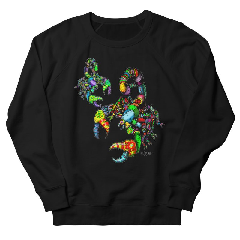 Scorpiopathic Women's French Terry Sweatshirt by Bad Otis Link's Artist Shop