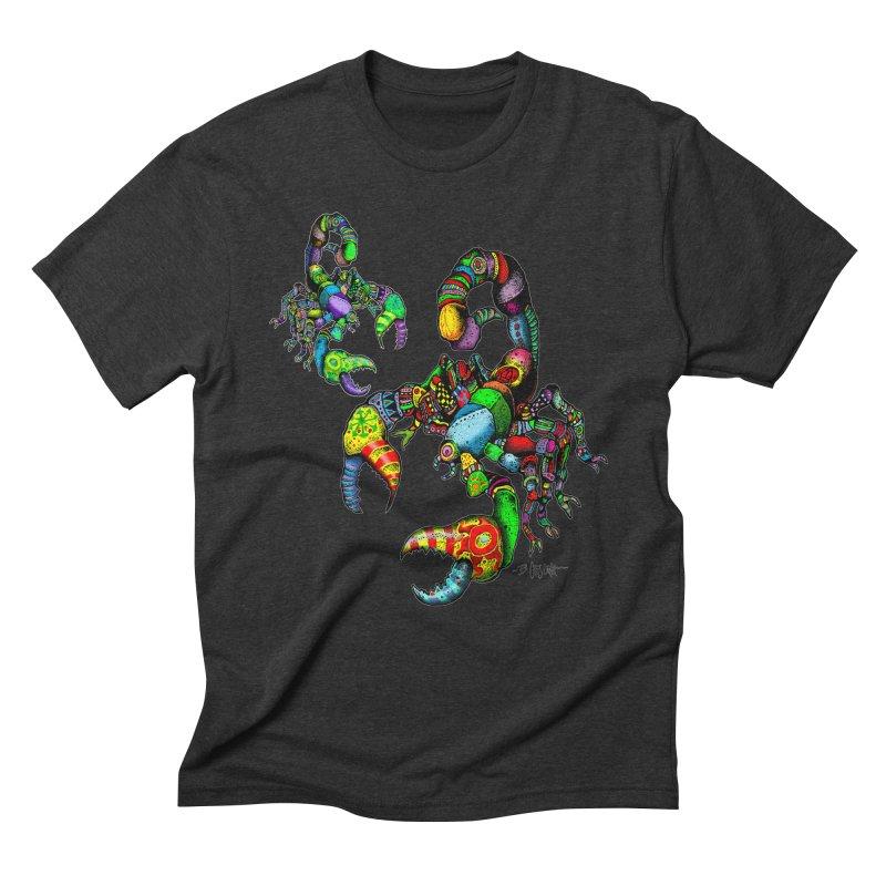 Scorpiopathic Men's Triblend T-Shirt by Bad Otis Link's Artist Shop