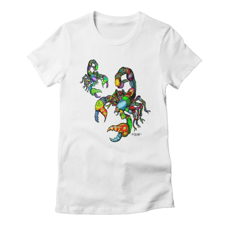 Scorpiopathic Women's T-Shirt by Bad Otis Link's Artist Shop
