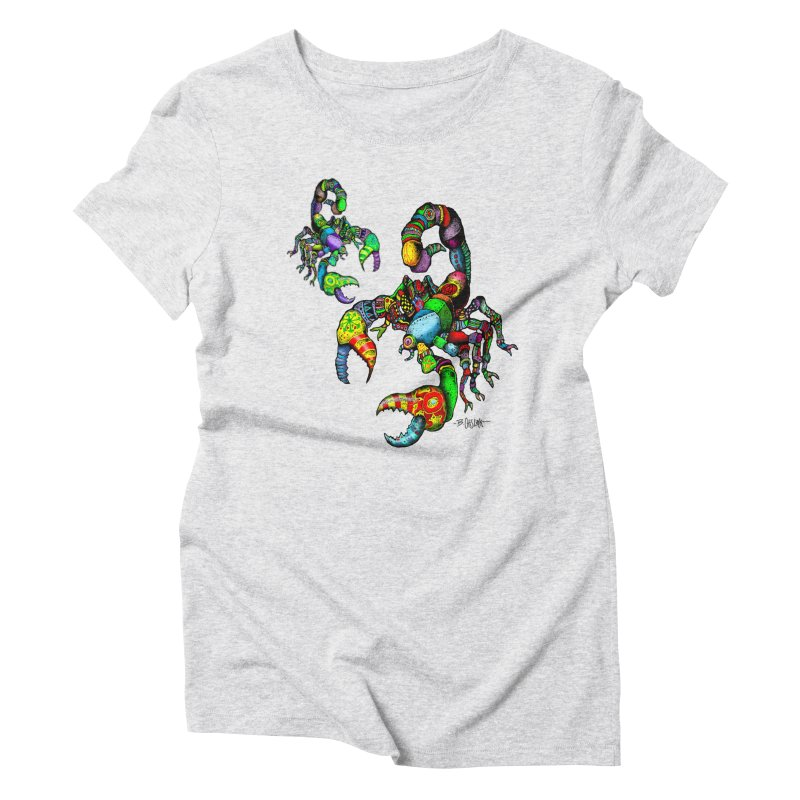 Scorpiopathic Women's T-Shirt by Bad Otis Link's Artist Shop