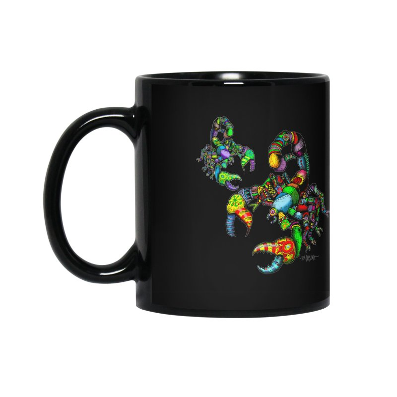 Scorpiopathic Accessories Mug by Bad Otis Link's Artist Shop