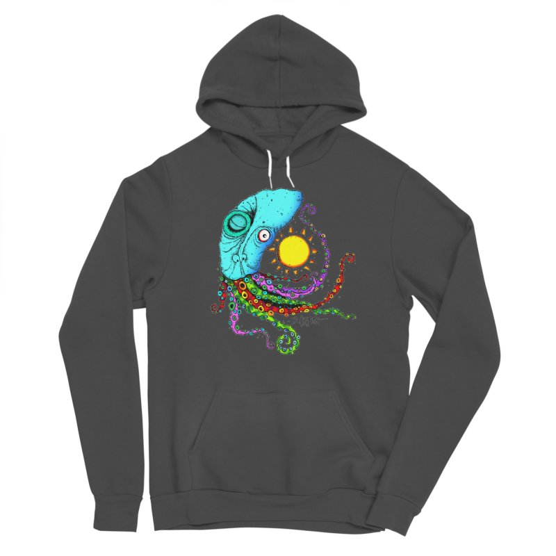 Jimmy The Squid Women's Pullover Hoody by Bad Otis Link's Artist Shop