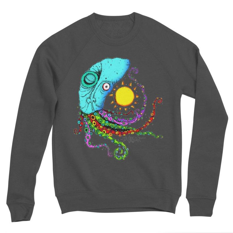 Jimmy The Squid Men's Sponge Fleece Sweatshirt by Bad Otis Link's Artist Shop