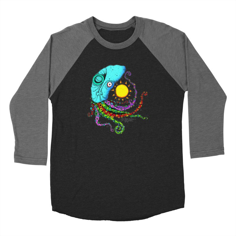 Jimmy The Squid Women's Longsleeve T-Shirt by Bad Otis Link's Artist Shop